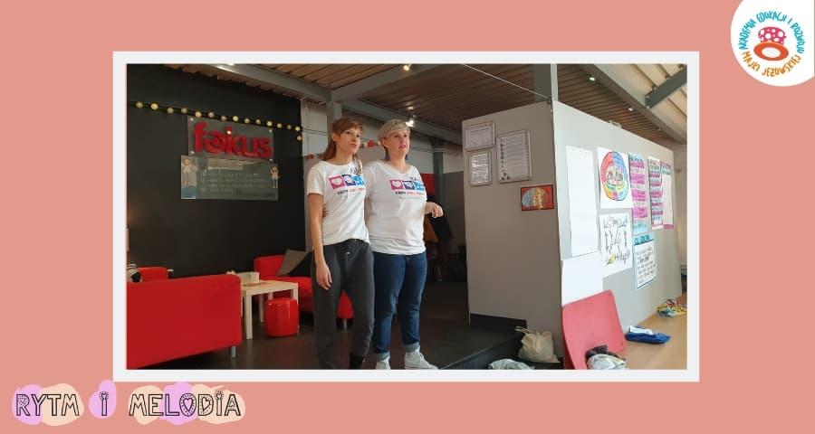 Rytm i Melodia szkolenie w Opolu - Asia Bąk & Beata Kaczor