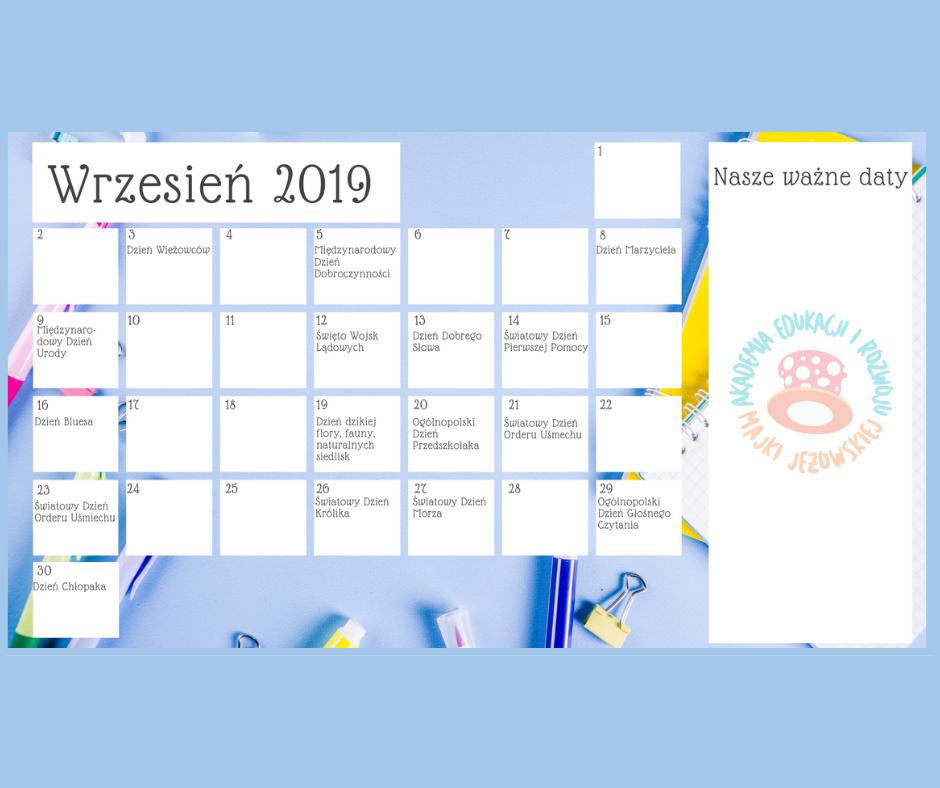 Kreatywny Kalendarz Nauczyciela I Mamy
