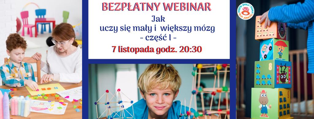 MentalPowerKaczka i Bezpłatny webinar dla rodziców i nauczycieli