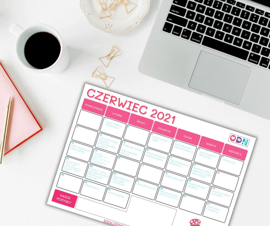 Kreatywny Kalendarz - czerwiec 2021